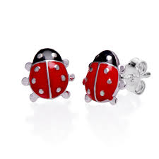 earrings for kids ladybug earrings for kids mynamenecklace