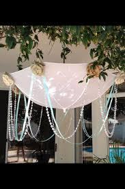 Shabby Chic Baby Shower Ideas by Diy Baby Shower Yard Sign With Unbrella Shabby Chic Diy