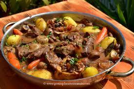 cuisiner du paleron de boeuf recette de collier de bœuf braisé au cidre petits plats entre amis