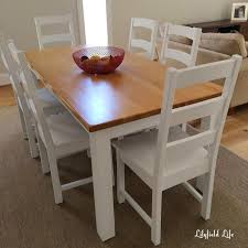 lilyfield life two toned dining table