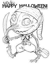 smart ideas halloween coloring pages teachers free printable