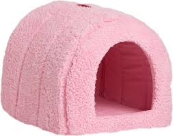 Cave Beds For Dogs Best Friends By Sheri Sherpa Igloo Dog U0026 Cat Bed Pink Chewy Com