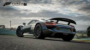 porsche spyder 2017 forza motorsport 7 garage opens with largest collection of