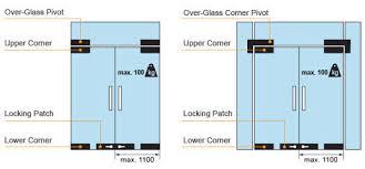 patch fitting glass door stainless steel swing door fittings for frameless glass doors