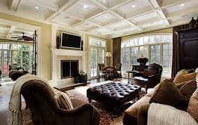 Awesome Family Room Decorating Images Moder Home Design Riterus - Family room decorations