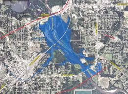 map of hattiesburg ms floodzone