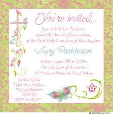 holy communion invitations communion invitation cards chic butterfly communion invitation