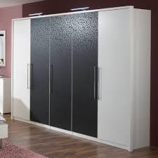 Schlafzimmer Joly Porta Kleiderschrank Nussbaum Weiß Schwebetürenschrank Schiebetüren