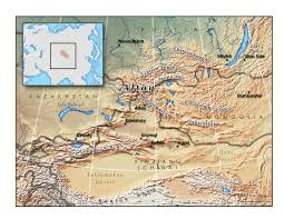 Map Of Asia Quiz by Altai Mountains Wikipedia