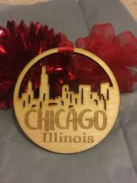 chicago illinois ornament ornament
