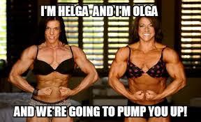 Female Bodybuilder Meme - memes and motivational posters 8 femuscleblog