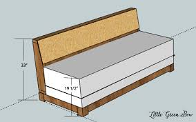 build your own sofa bed diy couch plans for the office build