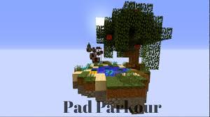 Map Pad Pad Parkour Minecraft Map Youtube