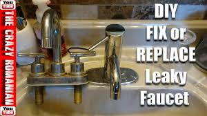 easy how to fix or replace a leaking faucet how hard can it be