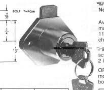 Desk Locks Interstate Security Inc Locks Page