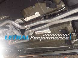 lethal mustang lethal performance 2015 mustang gt 2 5 stainless resonator delete