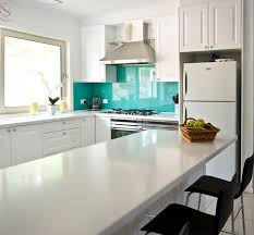 intensify the look of your kitchen with 20 glass back painted