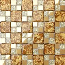 Mosaic Tile For Backsplash by Crystal Glass Mosaic Plated Tiles Art Design Wall Tile Hall