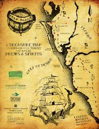 Map Of Treasure Island Florida by Gulf