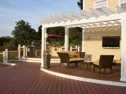 Backyard Awnings Ideas Shading Your Deck Hgtv