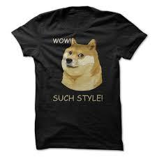 Funniest Doge Meme - doge meme shiba inu wow such style t shirt