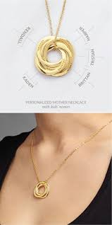 Necklace With Kids Names 59 Best Name Necklace Images On Pinterest Jewelry Gold Name