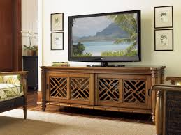 island estate nevis media console lexington home brands