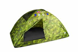 amazon com pacific play tents hq twin bed tent camouflage toys