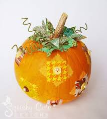whimsical pumpkin centerpieces thanksgiving squishy designs