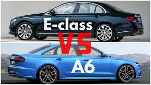 audi s6 vs 2017 mercedes e class vs audi a6