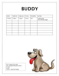 If A Dog Was Filling Out A Resume Free Printable Dog Walking Log Templates