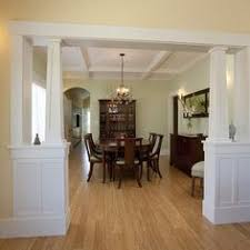 Dining Room Columns Open Concept Dining Room Living Room With Pillars Design Pictures