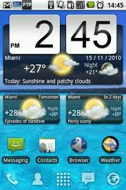clock and weather widgets for android animated weather widget clock for android version 6 7