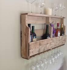 diy pallet wine rack shelf wooden pallet furniture home decor