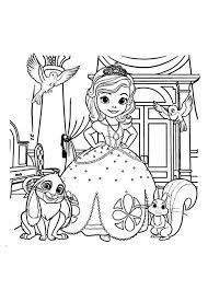 picture princess sofia friends sofia coloring