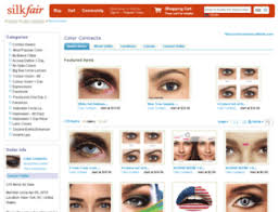 access colorcontacts silkfair com 5 colored contacts non