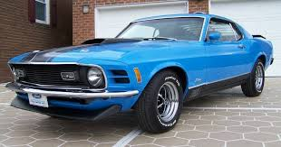 mustang mach 1 1970 grabber blue 1970 mach 1 ford mustang fastback mustangattitude