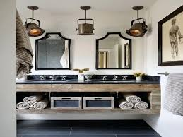 vanities industrial style bathroom lighting industrial style