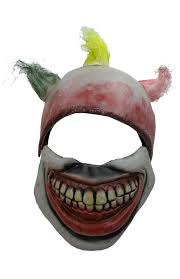halloween mask clown amazon com twisty the clown mask america horror story movie props