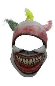 it clown halloween mask amazon com twisty the clown mask america horror story movie props
