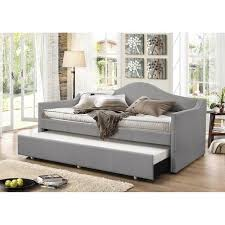 upholstered trundle daybed