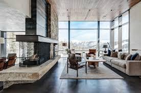 Contemporary Interior Design Montana Mountain Home By Pearson Design Group Form U0026 Frame