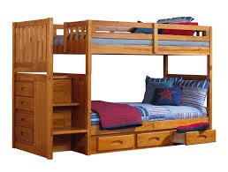 Teak Wood Bed Designs Bedroom Brown Lacquer Teak Wood Loft Bunk Bed With Desk And