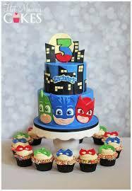 25 pj masks birthday cake ideas pj masks