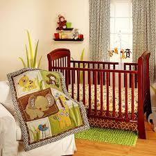 Giraffe Bed Set Jungle Dreams Bedding Set 3 Animals Nursery Baby Monkey