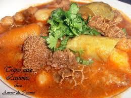 cuisiner les tripes tajine douara dowara recettes pour l aid amour de cuisine