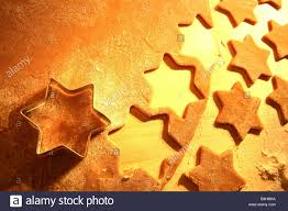 christmas bakery dough biscuit cutter stars detail series baking