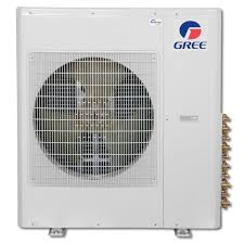 ductless mini split gree multi36hp230v1ao 3 ton 16 seer evo multi ductless mini