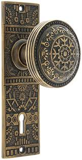 Mortise Interior Door Hardware Brass Windsor Interior Mortise Lock Set With Matching Knobs In