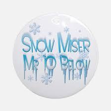 heat miser snow miser ornament cafepress